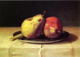 Two-Pears-On-A-Dish